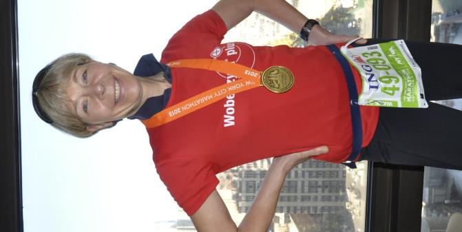 Geschafft: 4:32:31 New York Marathon 2013