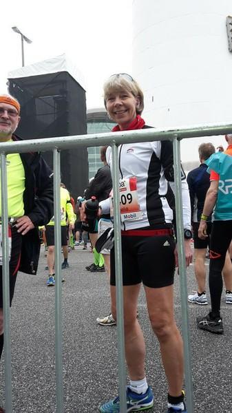 Startblock Hamburg Marathon